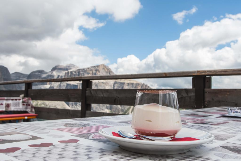 Cook the Mountain, DolomitesVives, yogurt